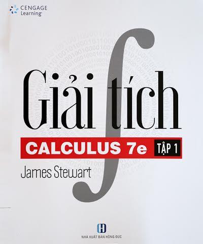 """Xuất bản Bản tiếng Việt sách """"Giải tích"""" của James Stewart 1_mqot"""