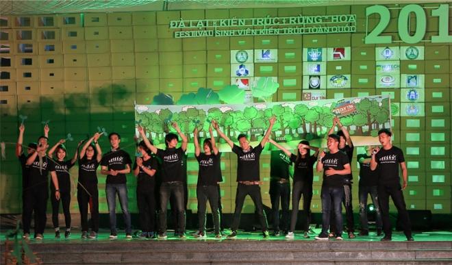 ĐH Duy Tân với tổng thành tích hàng đầu miền Trung tại Festival Kiến trúc 2016 H5_dlbg