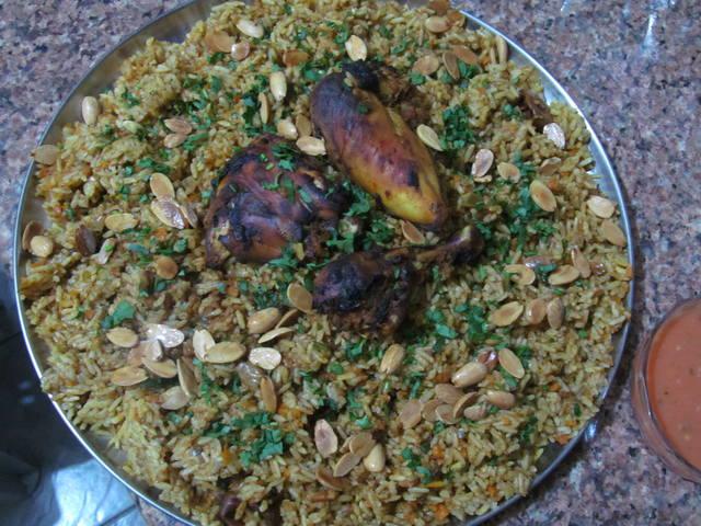 Кабсе (кабса). Красный прянный рис с курицей. Арабская кухня - Страница 2 1633583_m