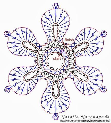 Вязание, вязанные вещи, схемы, узоры. Спицы и крючок - 2 - Страница 6 5209410_m