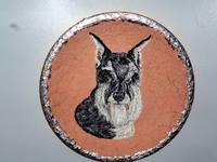 Роспись на ломаной яичной скорлупе,гуашь 10497614_s