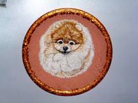 Роспись на ломаной яичной скорлупе,гуашь 10497619_s