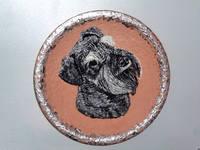 Роспись на ломаной яичной скорлупе,гуашь 10497617_s