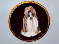 Роспись на ломаной яичной скорлупе,гуашь 12044178_s