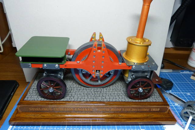 STIRLING'S TRACTION ENGINES Patent dated 12th December, 1859 - Страница 2 15169047_m