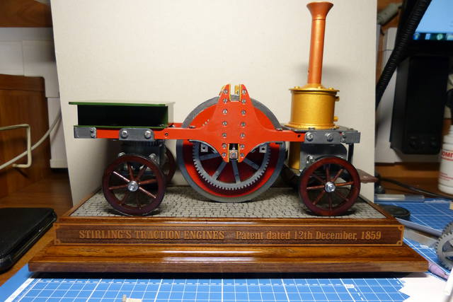 STIRLING'S TRACTION ENGINES Patent dated 12th December, 1859 - Страница 2 15169046_m