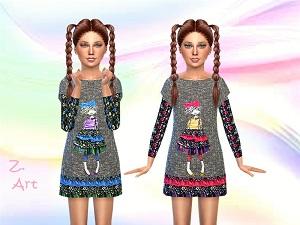 Для детей (платья, туники, комлекты с юбками) - Страница 3 15415605