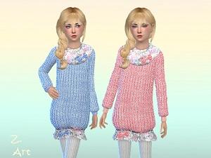 Для детей (платья, туники, комлекты с юбками) - Страница 3 15415825