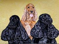 Роспись на ломаной яичной скорлупе,гуашь 15511279_s