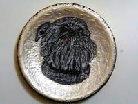 Роспись на ломаной яичной скорлупе,гуашь 15511300_s