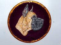 Роспись на ломаной яичной скорлупе,гуашь 15511369_s