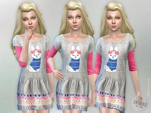 Для детей (платья, туники, комлекты с юбками) - Страница 3 15556643