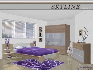 Спальни, кровати (модерн) - Страница 4 15557585