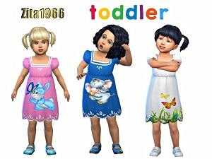 Для тоддлеров (платья, туники, комлекты с юбками)   - Страница 4 15760788