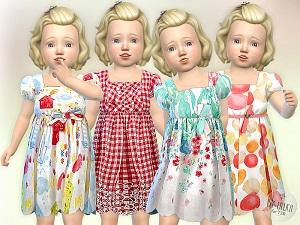 Для тоддлеров (платья, туники, комлекты с юбками)   - Страница 4 15789784