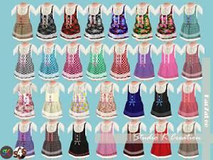 Для тоддлеров (платья, туники, комлекты с юбками)   - Страница 4 15790316_m