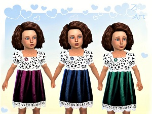 Для тоддлеров (платья, туники, комлекты с юбками)   - Страница 5 15810516