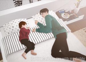 Детские позы, позы с детьми - Страница 3 15883111