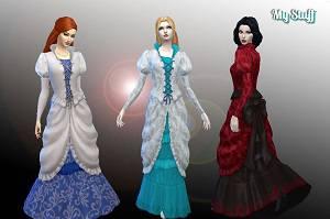 Старинные наряды, костюмы - Страница 3 16027476_m