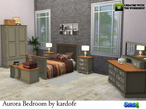Спальни, кровати (деревенский стиль)   16061190