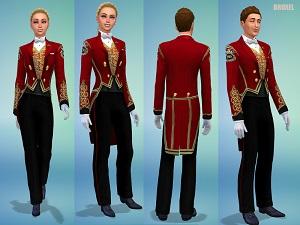 Старинные наряды, костюмы - Страница 3 16195401