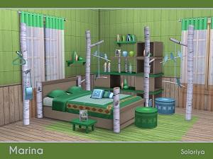 Спальни, кровати (деревенский стиль)   16364574