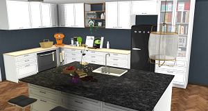 Кухни, столовые (модерн) - Страница 6 16421540