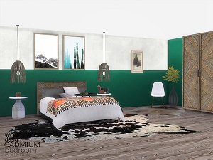 Спальни, кровати (деревенский стиль)   16978926