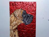 Роспись на ломаной яичной скорлупе,гуашь 17006844_s