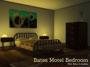 Спальни, кровати (деревенский стиль)   17034241