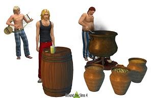 Средневековье, декор для пиратов, каменный век - Страница 2 17078158