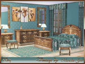 Спальни, кровати (антиквариат, винтаж, средневековье) 17128092
