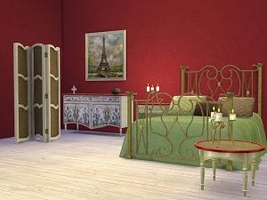Спальни, кровати (антиквариат, винтаж, средневековье) 17128095