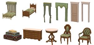 Спальни, кровати (антиквариат, винтаж, средневековье) 17128101