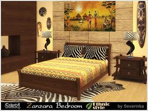 Спальни, кровати (восточный, этнический стиль) 17128173