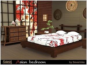 Спальни, кровати (восточный, этнический стиль) 17128179