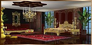 Спальни, кровати (восточные мотивы) - Страница 4 17236118