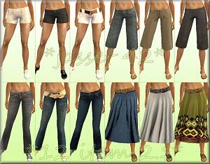 Повседневная одежда (юбки, брюки, шорты) - Страница 5 17236289