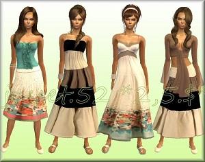 Повседневная одежда (платья, туники, комплекты с юбками) - Страница 64 17236296