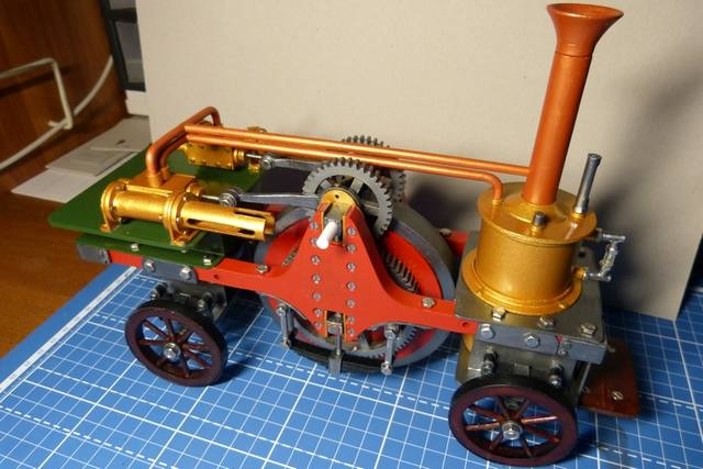 STIRLING'S TRACTION ENGINES Patent dated 12th December, 1859 - Страница 3 17271938_m