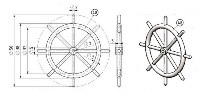 STIRLING'S TRACTION ENGINES Patent dated 12th December, 1859 - Страница 3 17345324_m