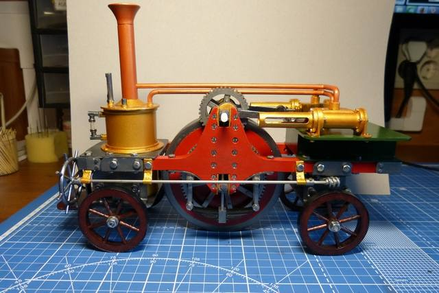 STIRLING'S TRACTION ENGINES Patent dated 12th December, 1859 - Страница 3 17345327_m
