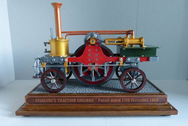 STIRLING'S TRACTION ENGINES Patent dated 12th December, 1859 - Страница 3 17393033_m