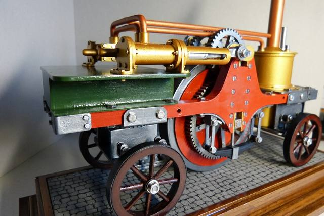 STIRLING'S TRACTION ENGINES Patent dated 12th December, 1859 - Страница 3 17393038_m