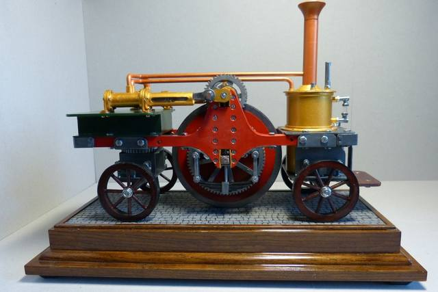 STIRLING'S TRACTION ENGINES Patent dated 12th December, 1859 - Страница 3 17393034_m