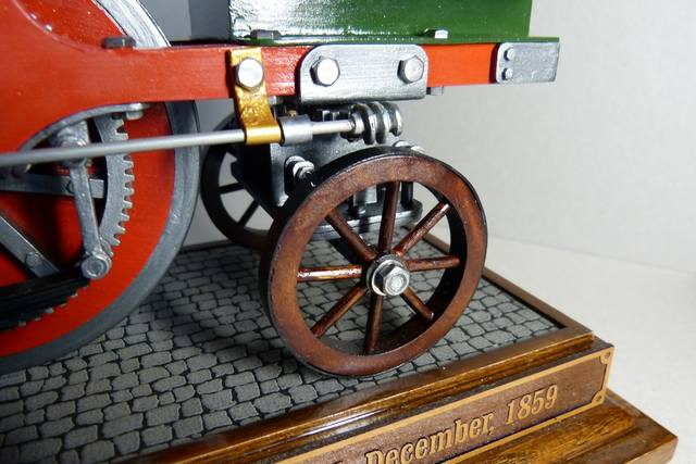 STIRLING'S TRACTION ENGINES Patent dated 12th December, 1859 - Страница 3 17393041_m