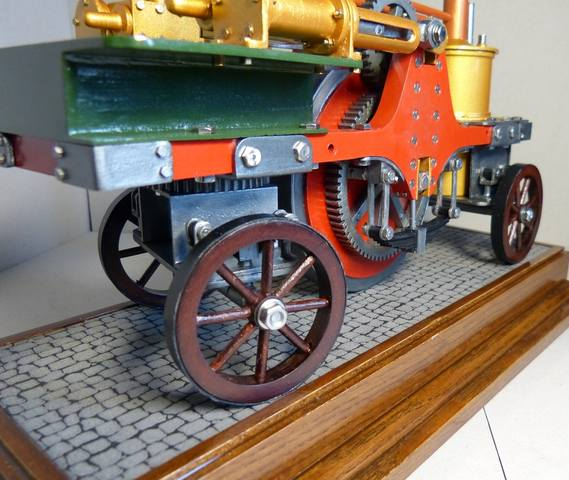 STIRLING'S TRACTION ENGINES Patent dated 12th December, 1859 - Страница 3 17393060_m