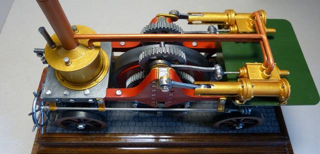 STIRLING'S TRACTION ENGINES Patent dated 12th December, 1859 - Страница 3 17393062_m
