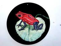 Роспись на ломаной яичной скорлупе,гуашь 17720062_s