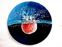 Роспись на ломаной яичной скорлупе,гуашь 17720064_s
